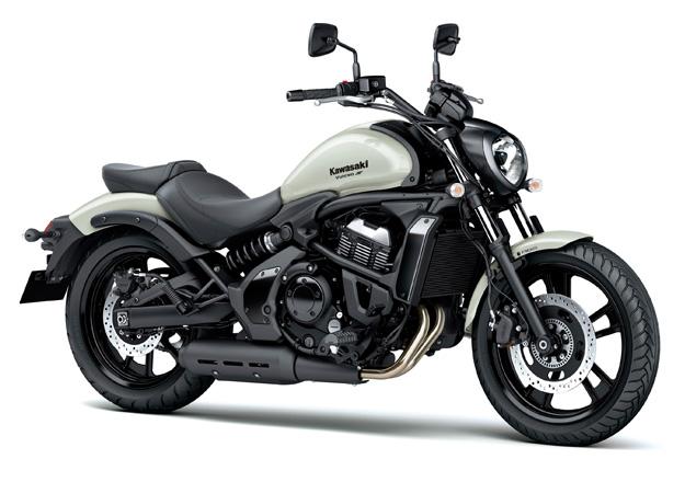 Kawasaki VULCAN S ABS Branca na Moto Flecha