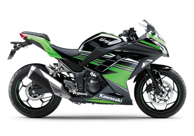 Kawasaki NINJA 300 na Moto Flecha