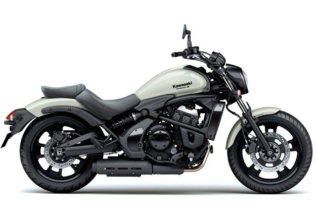 Perfil Kawasaki VULCAN S ABS Branca na Moto Flecha