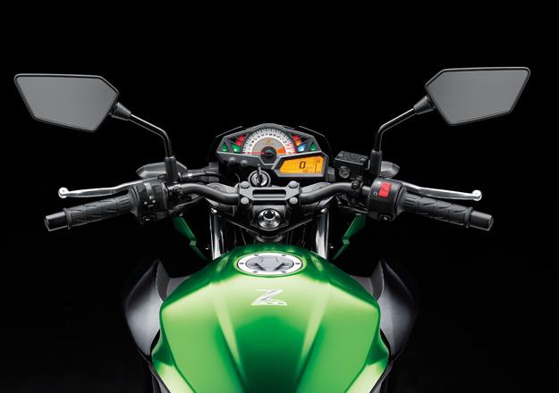 Painel Kawasaki Z300 na Moto Flecha