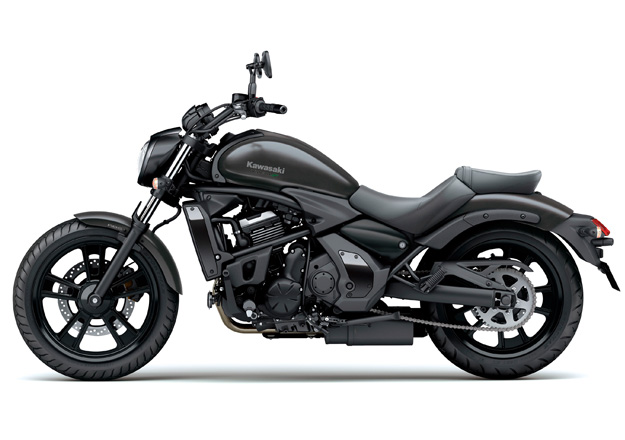 Perfil Kawasaki VULCAN S ABS Preta na Moto Flecha