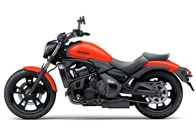 Perfil Kawasaki VULCAN S ABS Vermelha na Moto Flecha
