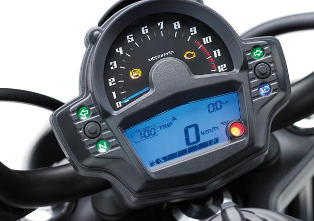 Painel Kawasaki VULCAN S ABS na Moto Flecha