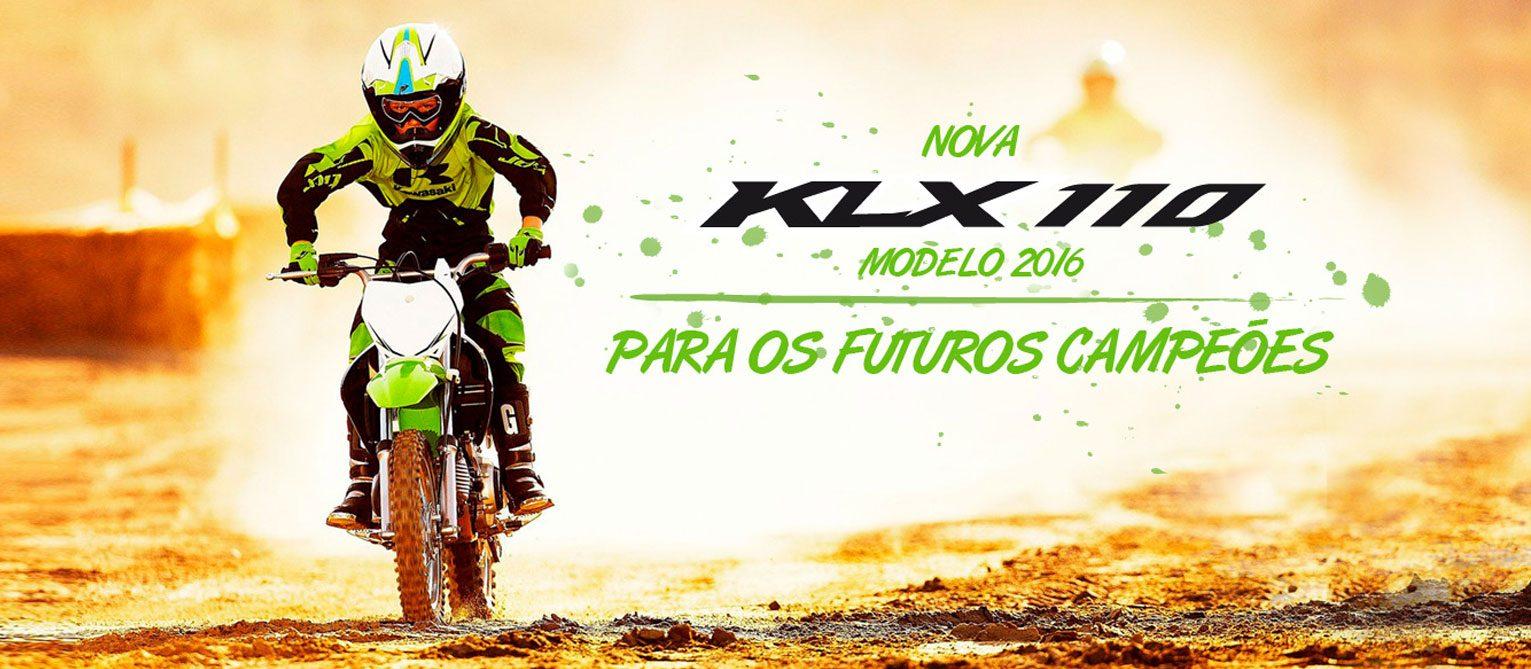 Nova Kawasaki klx 110 2016
