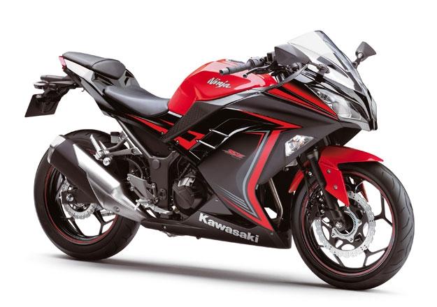 Kawasaki NINJA 300 Vermelha ED. ESPECIAL 30 ANOS na Moto Flecha