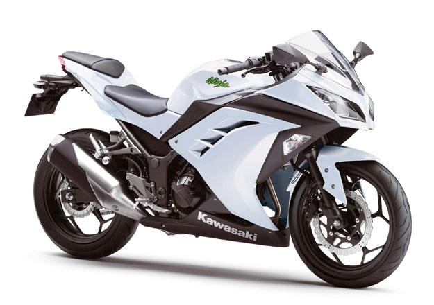 Kawasaki NINJA 300 Branca ED. ESPECIAL 30 ANOS na Moto Flecha