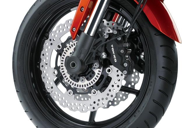Roda Kawazaki VERSYS 1000 ABS na Moto Flecha