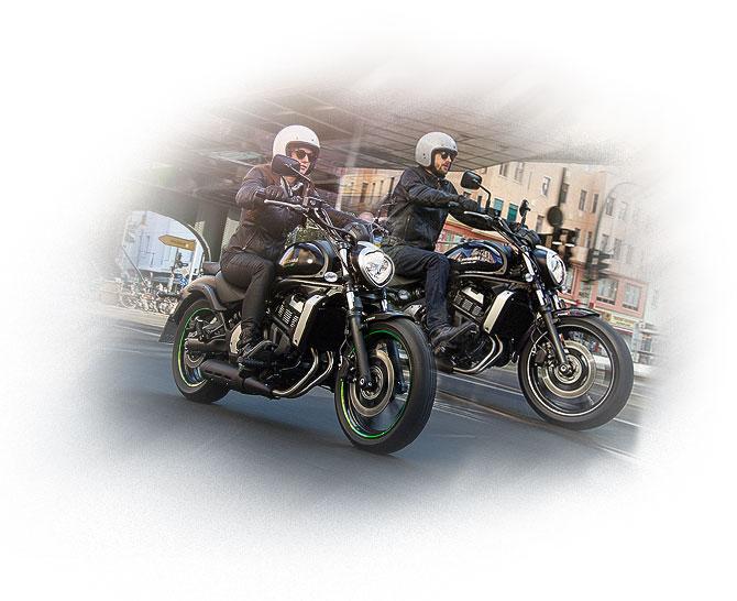 Motociclistas Kawasaki