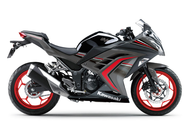 Kawasaki NINJA 300 Vermelha e Preta na Moto Flecha